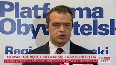 Sławomir Nowak wydał oświadczenie po swojej dymisji