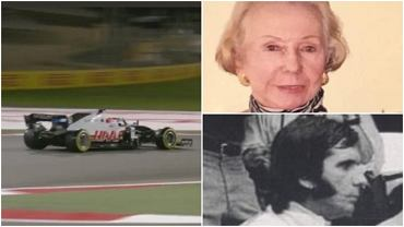The Fittipaldi clan in Formula 1. Pietro, the grandson of Emerson, the two-time world champion, made his debut in Bahrain.  His mother is Polish, Józefa Wojciechowska