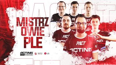 Actina PACT zwycięzcą Polskiej Ligi Esportowej!
