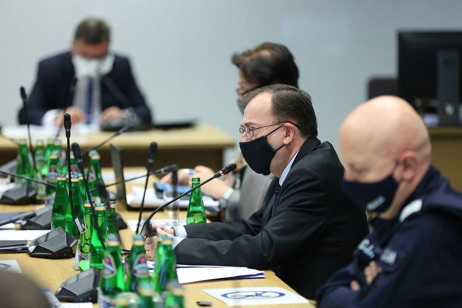 Posiedzenie komisji spraw wewnętrznych