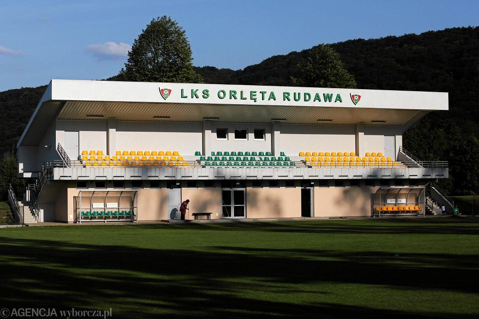 Boisko Ludowego Klubu Sportowego Orlęta w Rudawie