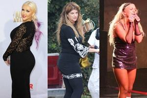 Christina Aguilera, Kirstie Alley, Britney Spears.