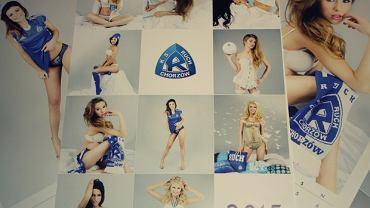 Okładka klubowego kalendarza Ruchu Chorzów