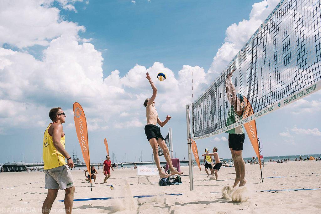 Turniej o Puchar Gazety Wyborczej Trójmiasto rozgrywany w Sopocie