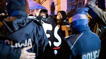 Lublin. Protesty w obronie praw kobiet