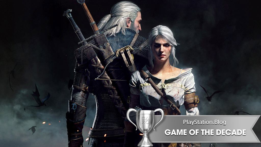 Wiedźmin 3 ze srebrnym pucharem (III miejsce) w plebiscycie na najlepsze gry dekady PlayStation