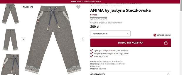 Dresy projektu Justyny Steczkowskiej