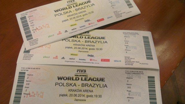 Bilety na Ligę Światową