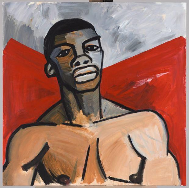 Portret Augusta Agboli O'Browna ps. Ali (1895-1976), uczestnika powstania warszawskiego