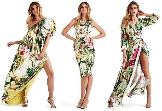 Wzór kwiatowy w kolekcji Doroty Goldpoint - wiosna/lato 2019