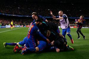 Liga Mistrzów. Szanse Barcelony na awans w 88. minucie wynosiły... 100 do 1!