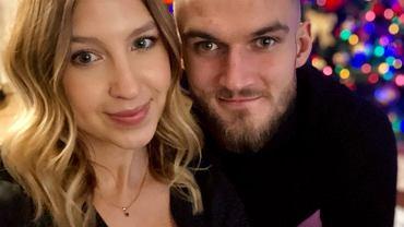 Karol Kłos z żoną