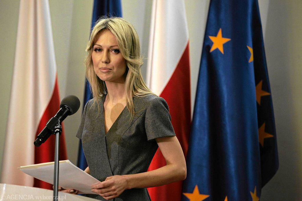 Kandydatka SLD na prezydenta Magdalena Ogórek