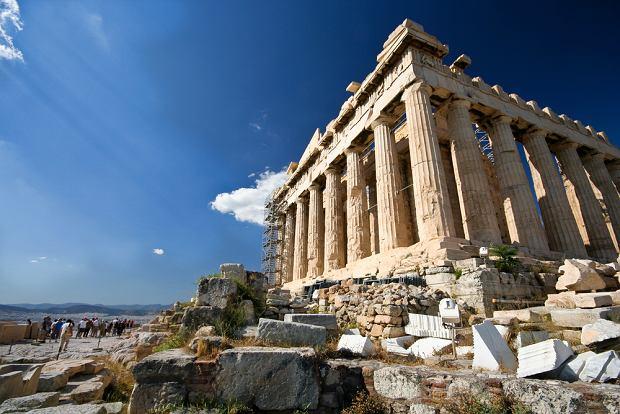 Grecja Ateny. Akropol
