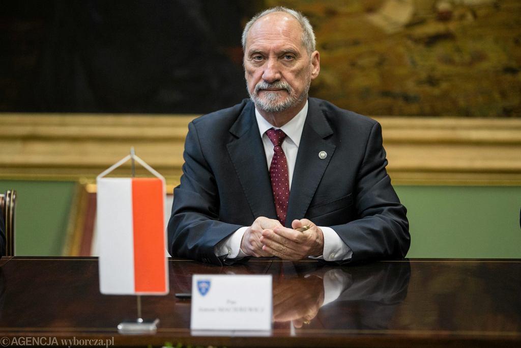 Antoni Macierewicz (fot. Jakub Orzechowski/AG)