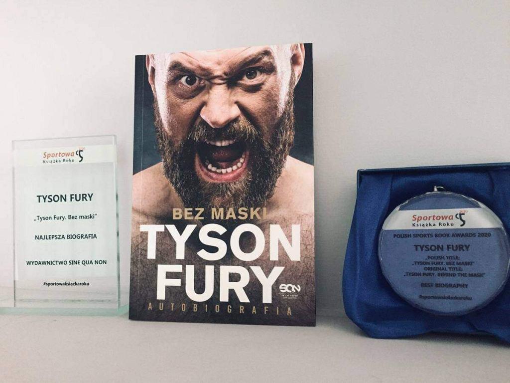 Najlepsza biografia w plebiscycie Sportowa Książka Roku 2020: Tyson Fury 'Bez maski'