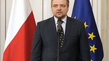 Podsekretarz stanu MSZ Aleksander Stepkowski
