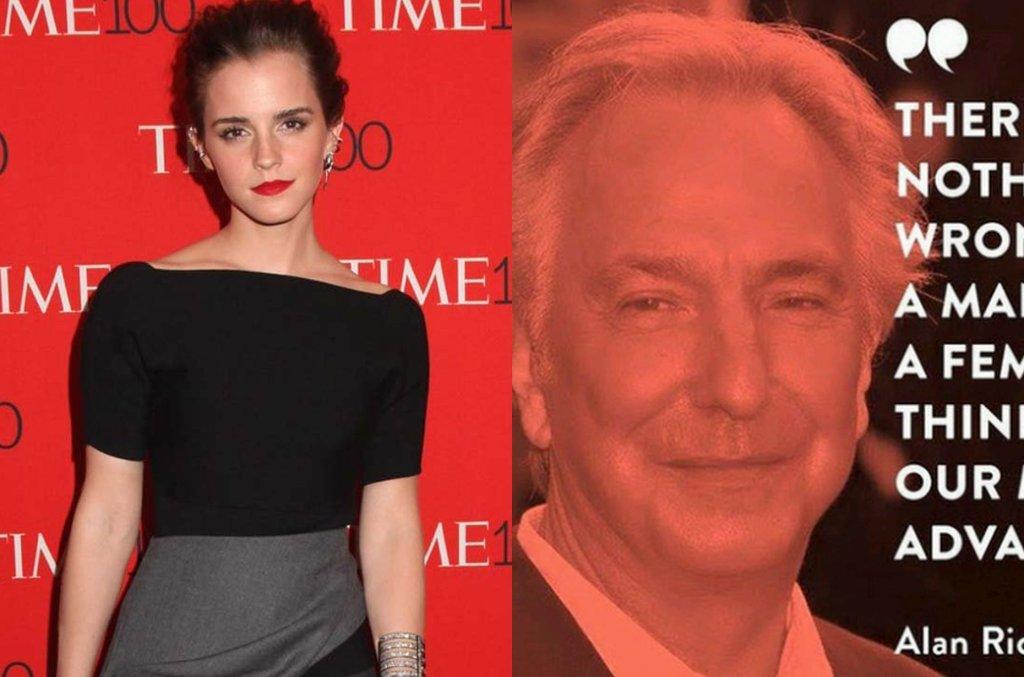 Emma Watson cytuje Alana Rickmana