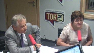 Ekonomiści w studiu radia TOK FM