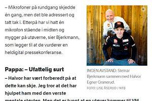 Granerud nie miał maski. On też nie. Izolacja za wspólne zdjęcie. Co się działo u norweskich skoczków?