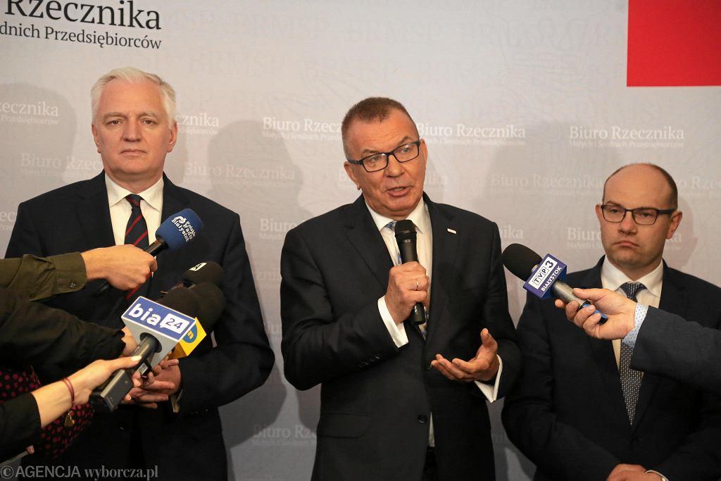 Jarosław Gowin otworzył w Białymstoku biuro Rzecznika Małych i Średnich Przedsiębiorców