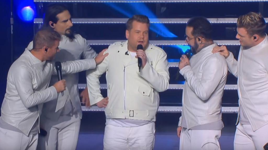 James Corden dołączył do Backstreet Boys!