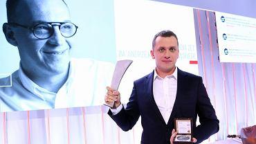 Wojciech Bojanowski - tegoroczny laureat Nagrody Radia ZET im. Andrzeja Wojciechowskiego za reportaż o śmierci Igora Stachowiaka.