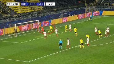Reakcja Erlinga Haalanda po golu