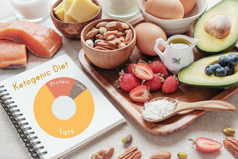 Dieta ketogeniczna (ketogenna) jest dietą wysokotłuszczową i niskowęglowodanową.