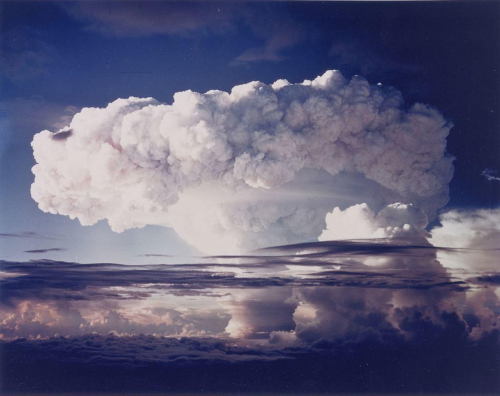 Wybuch bomby wodorowej podczas Operacji Ivy w 1952 roku