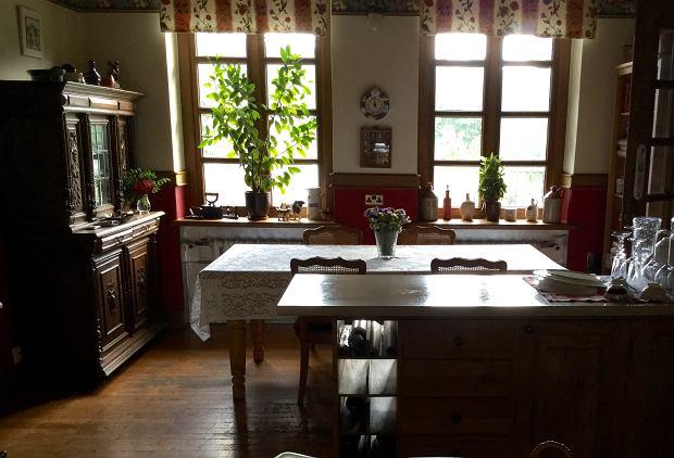 Kuchnia pani Urszuli - to między innymi tu pracuje nad swoimi octami