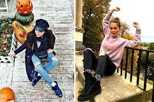Jeansy z dziurami - jak je nosić zimą? Zobaczcie propozycje Klaudii Halejcio, Agnieszki Hyży i Pauliny Sykut-Jeżyny!