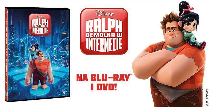 'Ralph Demolka w Internecie' na DVD i Blu-ray