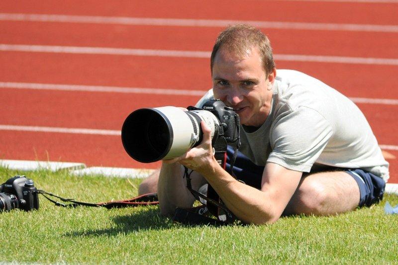 Adam Ciereszko, fotograf Lecha Poznań