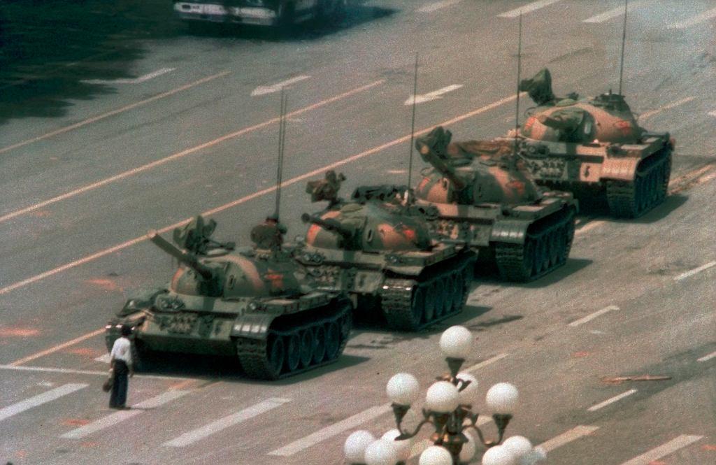 China Tank Man Photographer