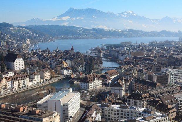 Lucerna zimą. Szwajcaria / fot. Shutterstock