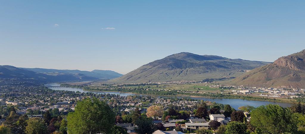 Miasto Kamloops w Kanadzie, w jego pobliżu KGHM ma projekt Ajax