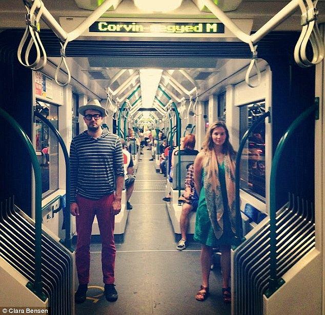 W metrze w Budapeszcie