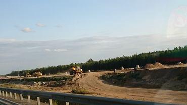 Budowa S3 na odcinku Polkowice - Lubin. Na finał tej inwestycji kierowcy jeszcze poczekają.
