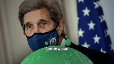 Specjalny wysłannik prezydenta USA ds. klimatu John Kerry