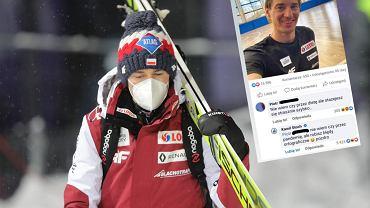 Kamil Stoch i riposta do fana na Facebooku