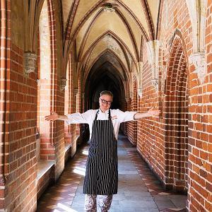 Bogdan Gałązka, szef kuchni i współwłaściciel restauracji Gothic w Malborku