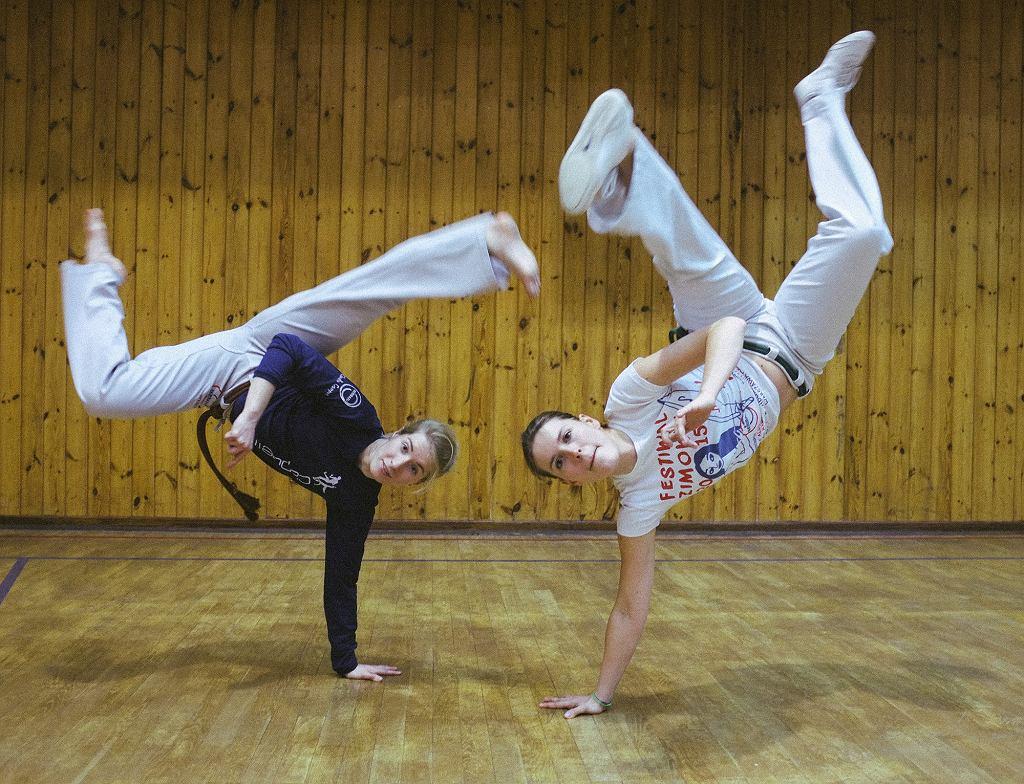 capoeira dziewczyny