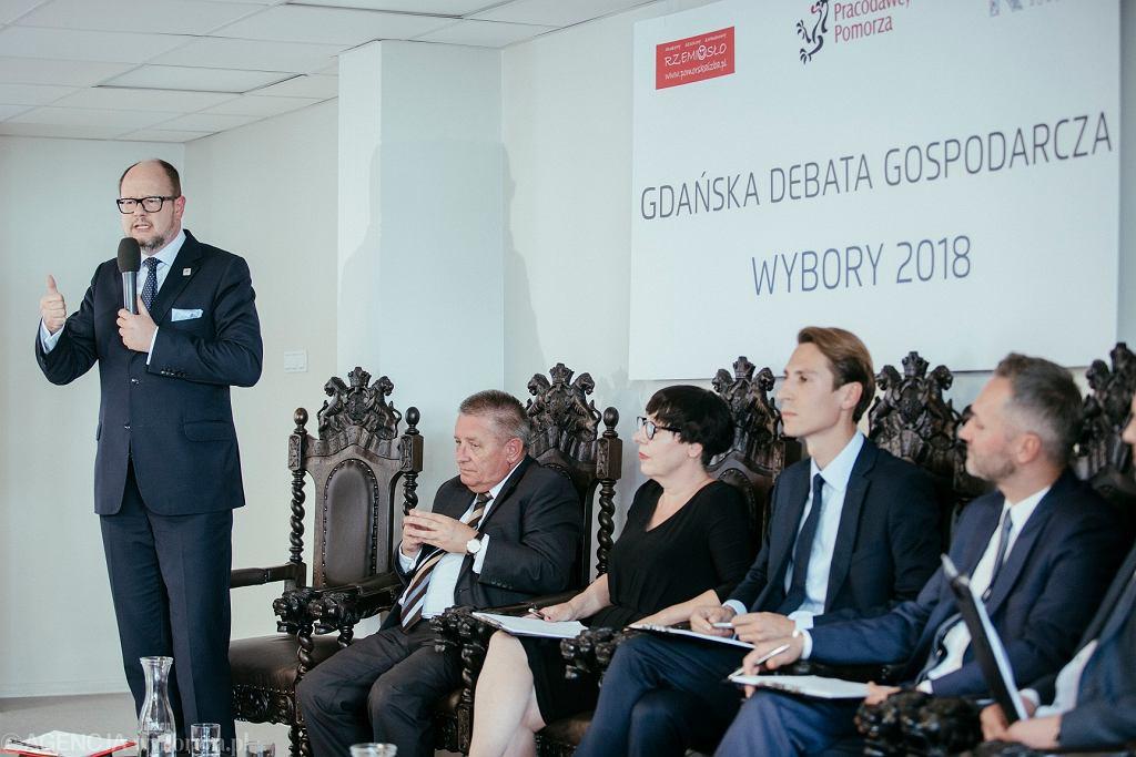 Gdańsk. Debata kandydatów na prezydenta miasta