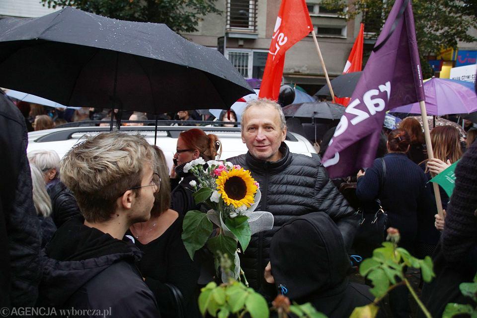 Zdjęcie numer 47 w galerii - Czarny protest w Zielonej Górze:
