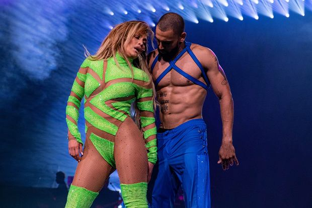 Jennifer Lopez performs in concert during the Its My Party Tour in Milwaukee, Wisconsin    Pictured: Jennifer Lopez      World Rights,