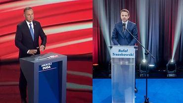 """""""Przegrały uszy i oczy wszystkich obywateli"""". Ekspertka rozczarowana """"debatami"""" Dudy i Trzaskowskiego"""