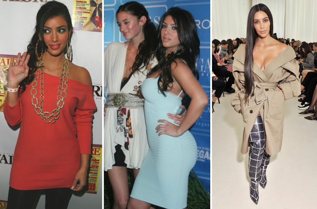 Kim Kardashian metamorfoza, 2007, 2008, 2016