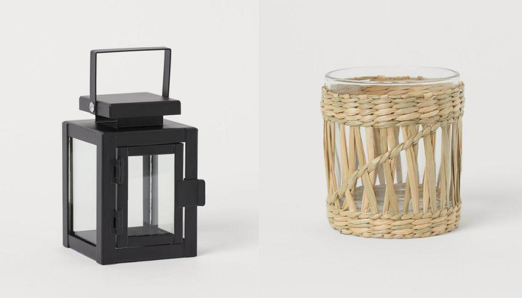 Latarenka i świecznik z H&M