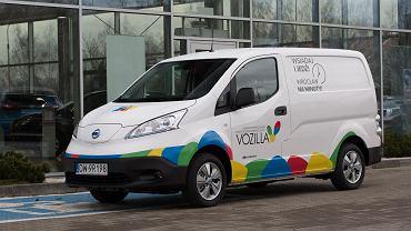Nissan e-NV200 dostępny w ofercie Vozilli